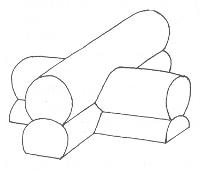 Основные способы рубки углов бревенчатого дома.