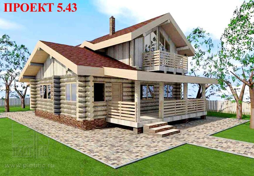 Прочный теплый дом для крепкой семьи