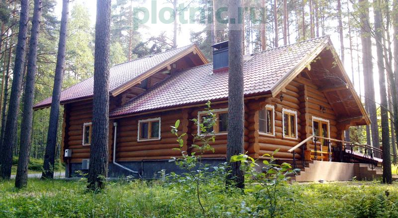 Дом с каскадной крышей и сводчатой гостиной